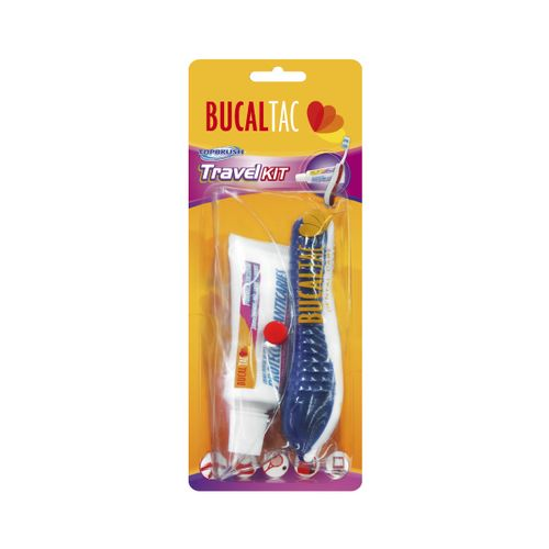 Bucal-tac-travel-kit---1-cepillo---1-gel-dental---1-neceser-de-regalo