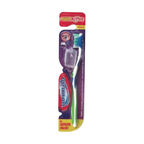 Top-brush-cepillo-dental-multiactive-1-u-Con-limpiador-de-lengua-y-capuchon-de-regalo
