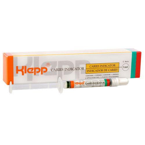 Klepp-caries-indicator---verde---jeringa-por-1ml---2-puntas-esponja