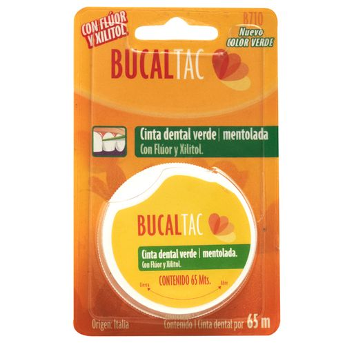Bucal-tac-cinta-dental-verde-con-menta